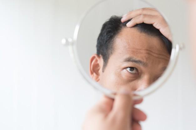Caida de cabello y perdida de peso repentinas